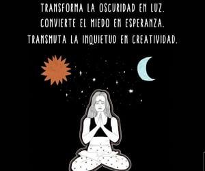 luz, meditacion, and calma image