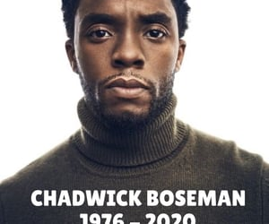 actor, black panther, and chadwick boseman image