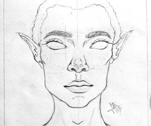 art, arte, and sketch image