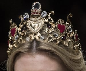 crown, fashion, and Dolce & Gabbana image