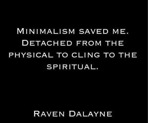 detached, spiritual, and raven dalayne image
