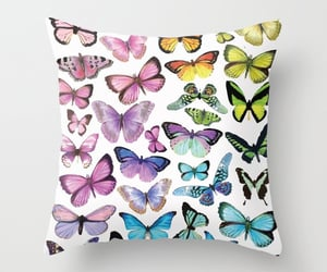 bedroom, butterfly, and decor image