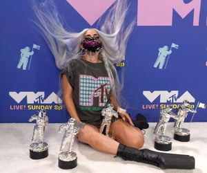 Lady gaga, vmas, and mtv image