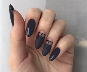 style, nails, and fashion image