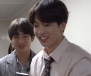 v, tae, and jk image
