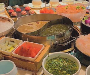 aesthetic, food, and hot pot image