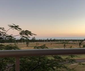 sunset, blue, and cuba image