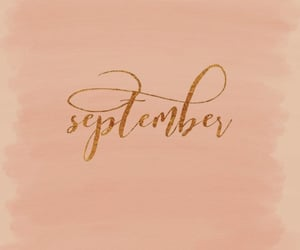 September, month, and hello image