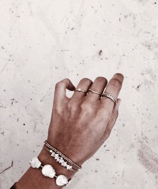 accessories, beach, and bracelet image