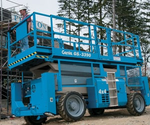 scissor lifts, scissor lifts for rental, and scissor lifts for hire image