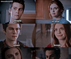 tw, stiles stilinski, and stydia image