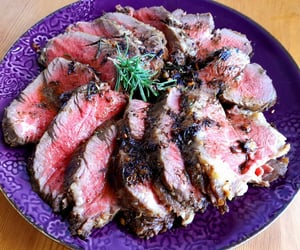 beef, eat, and food image
