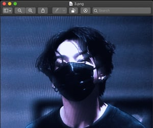 cyber, jungkook, and theme image