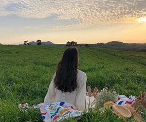 aesthetic, picnic, and ulzzang image