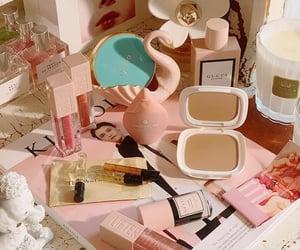 cosmetics, makeup, and pink image