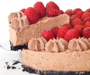 berries, delicious, and cake image