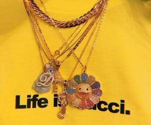 accessoires, collier, and fleur image