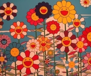 flowers, aesthetic, and 70s image