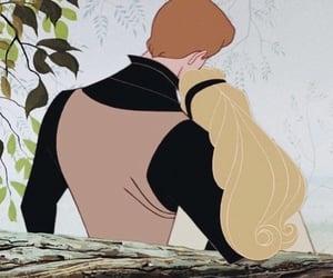 animation, cinderella, and couple image
