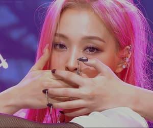 aesthetic, pink, and jiu image