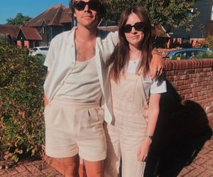 Harry Styles, gemma styles, and siblings image