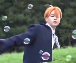 bubbles, icon, and kpop image