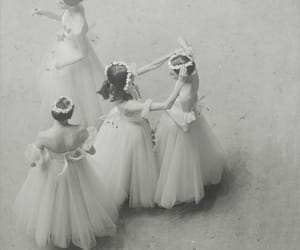 ballet, flower crown, and flowers image