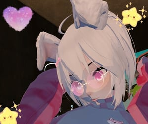 anime, girl, and vrchat image