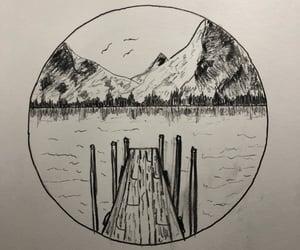 art, nature, and zeichnung image