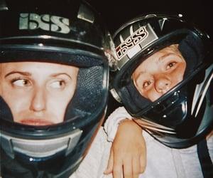 girls, helmet, and is image