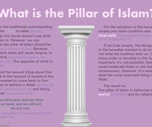 islam and pillar image