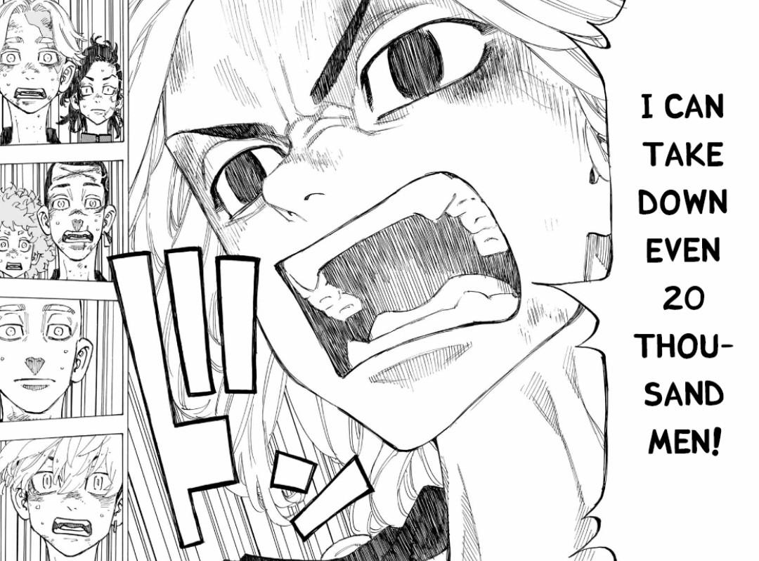 manga, mikey, and manga cap image