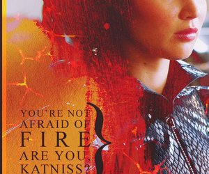 the hunger games, tribute, and katniss everdeen image