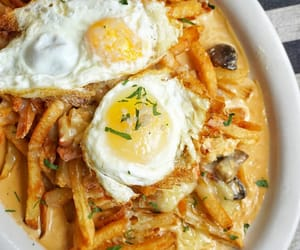 egg, fries, and gravy image