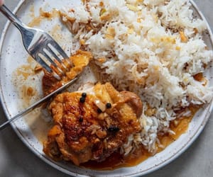 garlic, asian food, and fried rice image