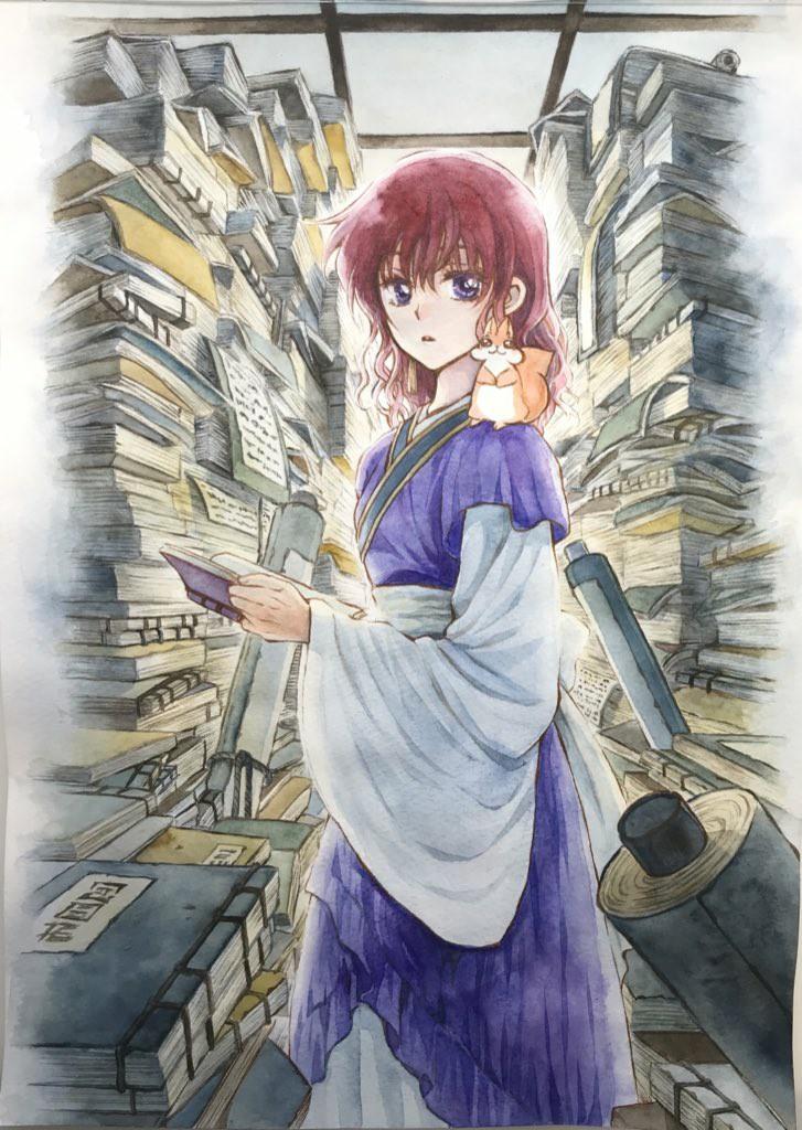 manga, shoujo, and yona image