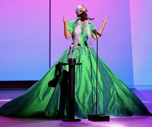 Lady gaga, vmas, and green image