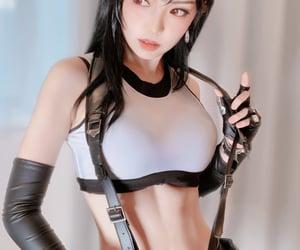 cosplay, final fantasy, and tifa image
