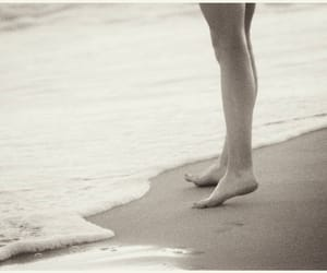 bare feet, photography, and shoreline image