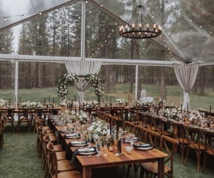 wedding, green, and outdoor image