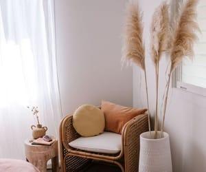 boho room, boho minimalism, and boho nook image