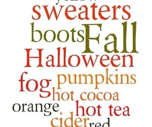 cocoa, leaves, and pumpkins image