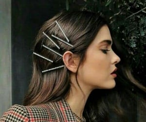 clips, fashion hair, and hairstyle image