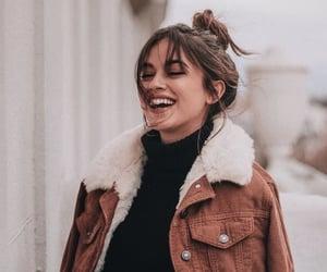 fashion, girl, and smile image