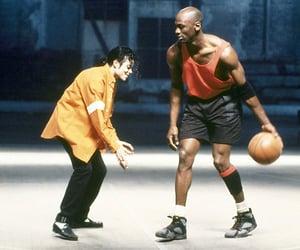 michael jackson, michael jordan, and Basketball image