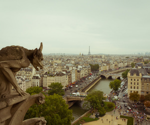 architecture, gothic, and eiffel tower image