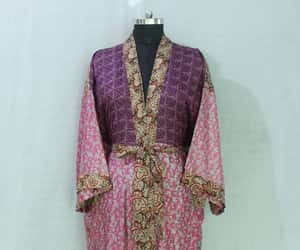 floral kimono, ethnic night wear, and boho kimono image