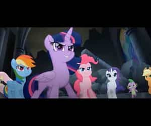 children, MLP, and fluttershy image