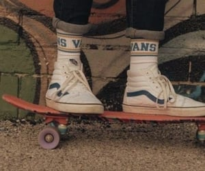 vans, aesthetic, and vintage image