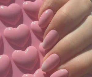 aesthetic, carefree, and nails image
